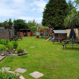 The Saddler Ramsgate Beer Garden with Children's Area